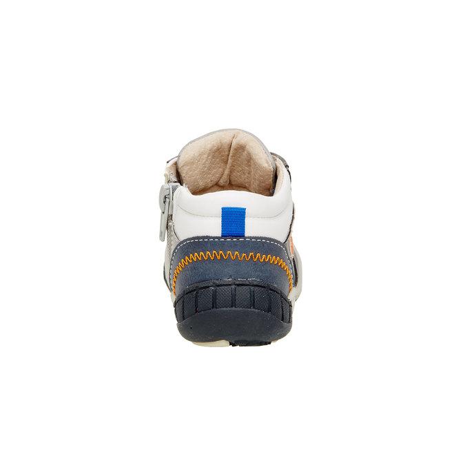 Členkové topánky so zipsom mini-b, šedá, 111-2100 - 17