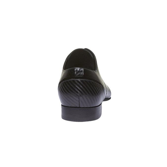 Kožené pánske poltopánky conhpol, čierna, 824-6149 - 17