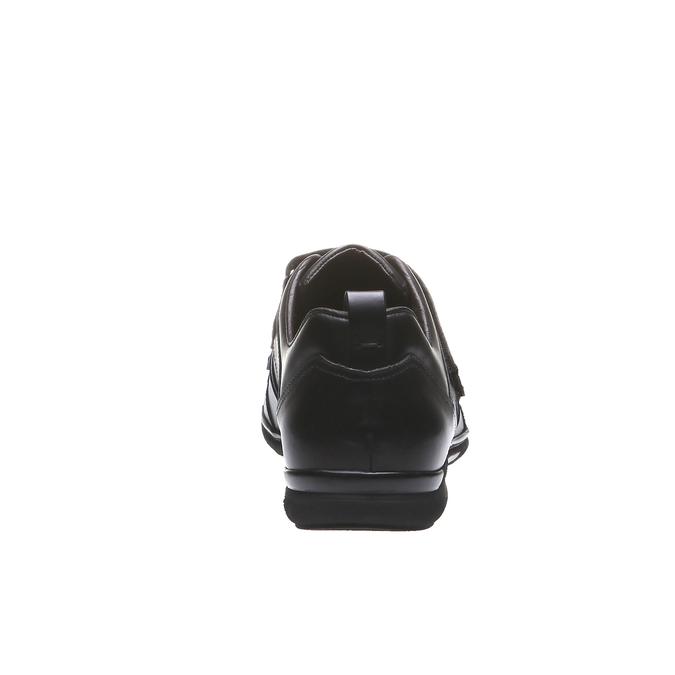Kožené tenisky bata, čierna, 814-6344 - 17