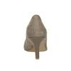 Dámské lodičky na strednom podpätku bata, hnedá, 626-2601 - 17