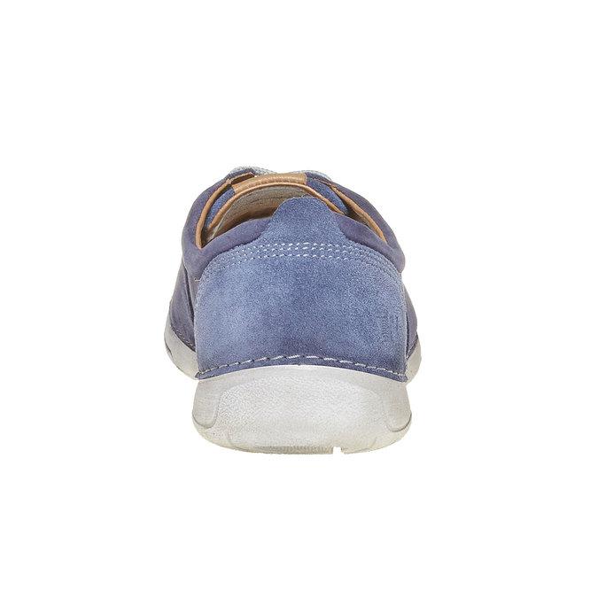 Pánska kožená obuv weinbrenner, modrá, 846-9657 - 17