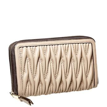 Dámska peňaženka bata, béžová, 941-8103 - 13