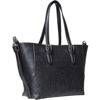 Kabelka v Shopping štýle bata, čierna, 961-6799 - 13