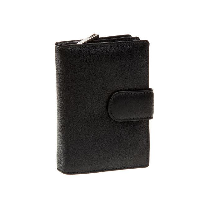Kožená peňaženka bata, čierna, 944-6117 - 13