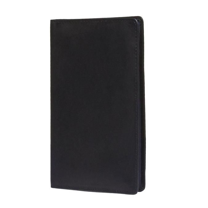 Kožené púzdro na karty bata, čierna, 944-6159 - 13