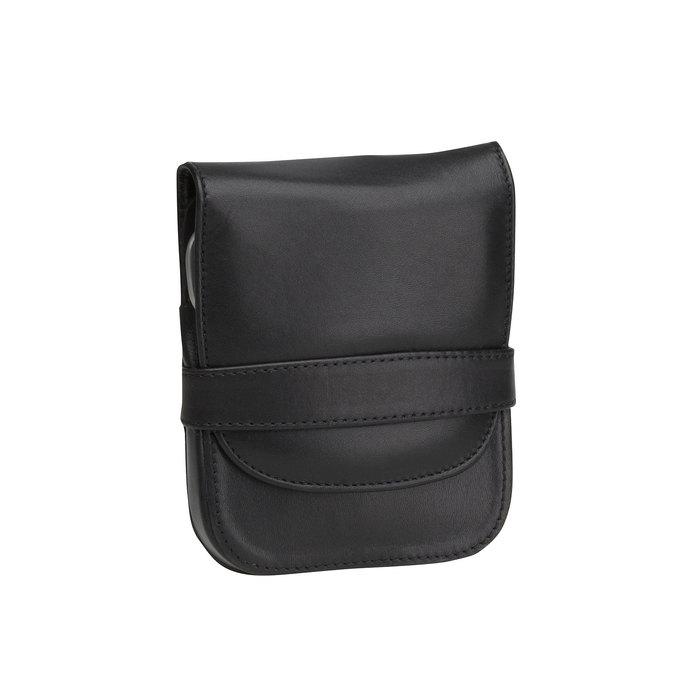 Manikúra v koženom púzdre bata, čierna, 944-6200 - 13