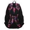 Dievčenský školský batoh s bodkami bagmaster, ružová, 969-5601 - 26