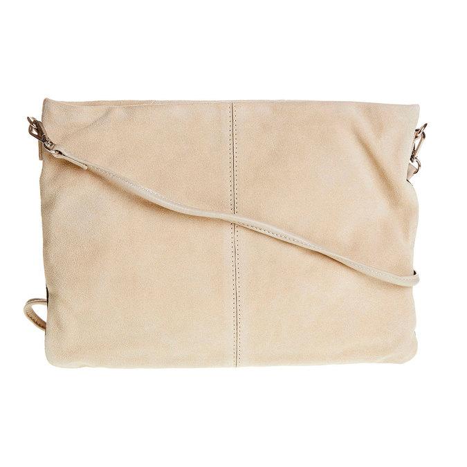Kožená Crossbody kabelka bata, čierna, 963-6125 - 26