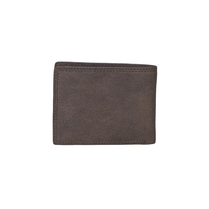 Pánská kožená peňaženka bata, hnedá, 944-4129 - 26