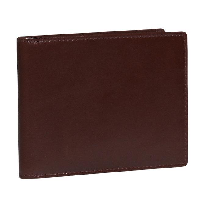 Pánska kožená peňaženka bata, hnedá, 944-4122 - 13