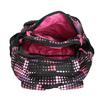 Dievčenský školský batoh s bodkami bagmaster, ružová, 969-5601 - 17