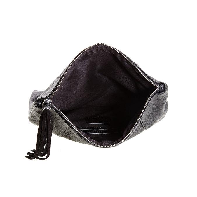 Crossbody kabelka so strapcom bata, čierna, 961-6777 - 15