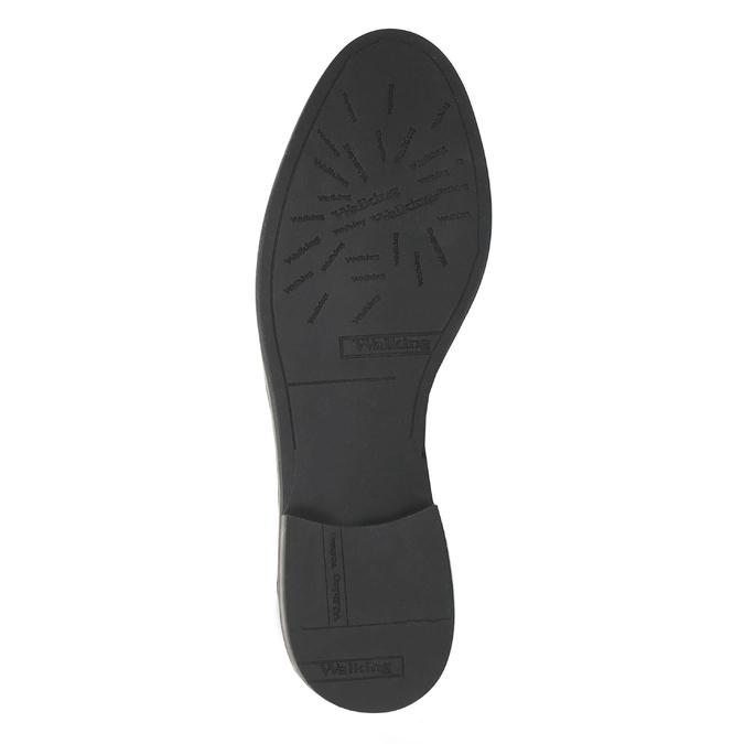 Kožená členková obuv so zipsami bata, čierna, 596-6605 - 26