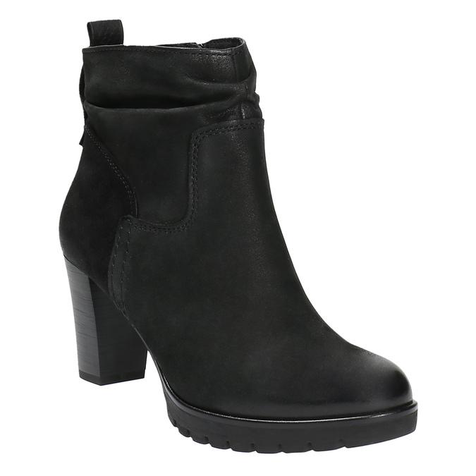 Dámska členková obuv bata, čierna, 796-6600 - 13