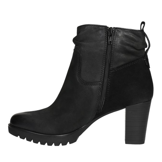 Dámska členková obuv bata, čierna, 796-6600 - 26