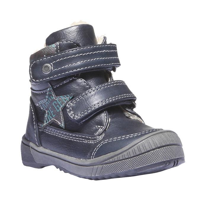 Detská obuv mini-b, modrá, 111-9103 - 13