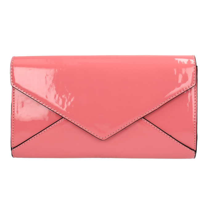 Ružová listová kabelka bata, ružová, 961-5624 - 19