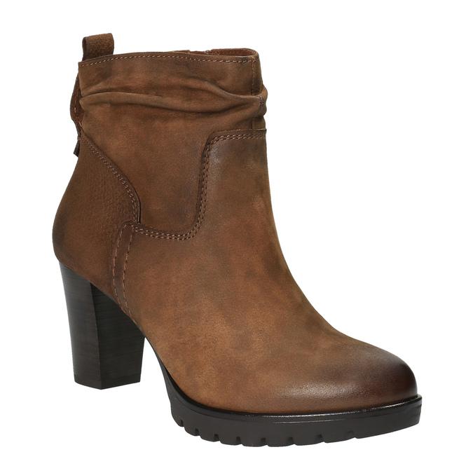 Dámska členková obuv bata, hnedá, 796-4600 - 13