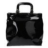 Čierna dámska kabelka do ruky bata, čierna, 961-6606 - 19