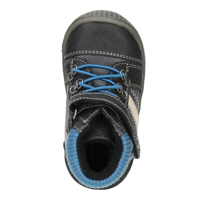 Dámska členková obuv bubblegummer, čierna, 111-6610 - 19