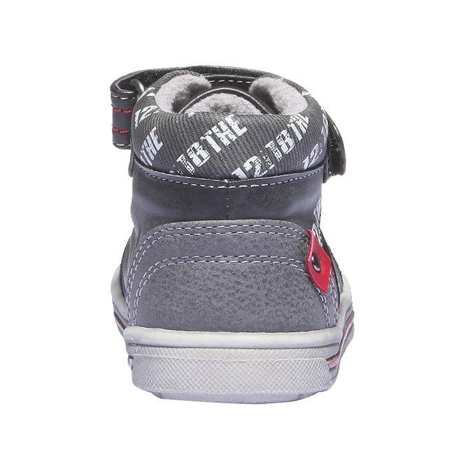 Detská obuv mini-b, čierna, 111-6102 - 17