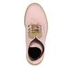 Kožená šnurovacia obuv na priehladnej podrážke weinbrenner, ružová, 596-5639 - 19