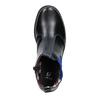 Detská členková obuv s pružným bokom mini-b, čierna, 321-9602 - 19
