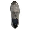 Pánske kožené poltopánky v ležérnom dizajne bata, šedá, 826-2732 - 19