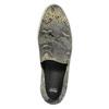 Kožené Slip-on s hadím vzorom bata, šedá, 526-2606 - 19