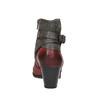 Dámska členková obuv so zateplením bata, červená, 696-5617 - 17