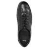 Ležérne kožené poltopánky čierne bata, čierna, 826-6652 - 19