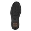 Ležérne kožené poltopánky comfit, čierna, 824-6719 - 26