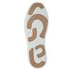 Kožené členkové tenisky bata, hnedá, 844-4621 - 26
