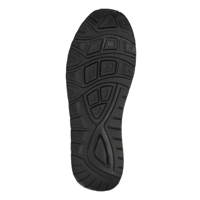 Tenisky na výraznej podrážke bata, hnedá, 841-3603 - 26