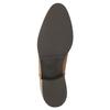 Kožená členková obuv so zipsom bata, hnedá, 594-3518 - 26