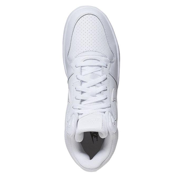 Biele členkové tenisky nike, biela, 801-1332 - 19