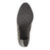 Členková obuv na podpätku bata, šedá, 791-2602 - 26