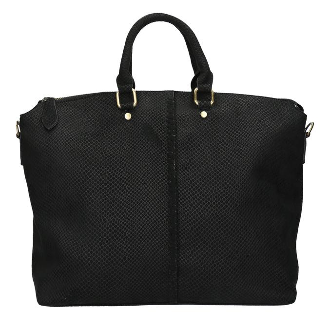 Čierna dámska kabelka bata, čierna, 969-6622 - 19