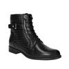 Dámska členková obuv bata, čierna, 594-6617 - 13