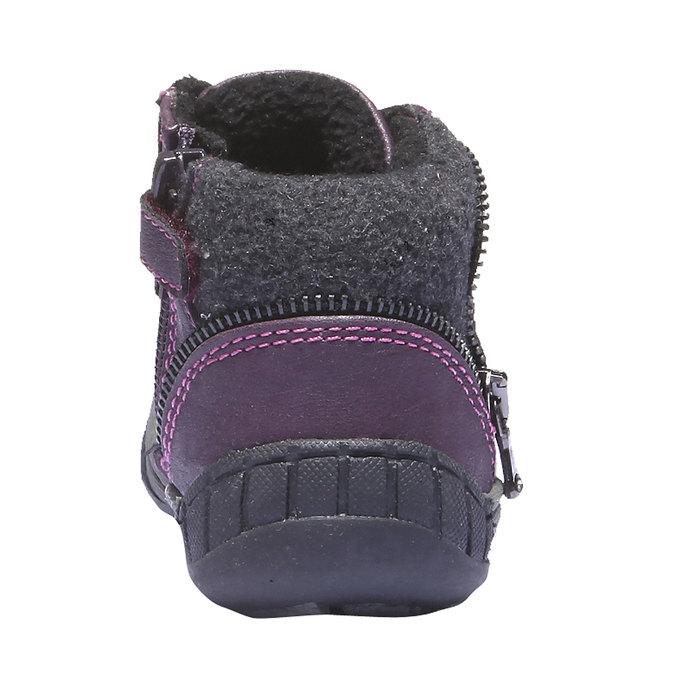 Detská obuv mini-b, fialová, 121-9101 - 17