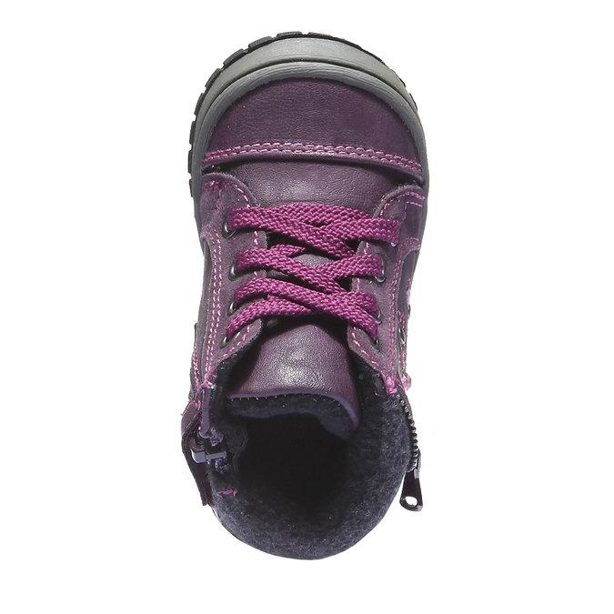 Detská obuv mini-b, fialová, 121-9101 - 19