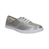 Dámske strieborné tenisky bata, strieborná, 519-1690 - 13