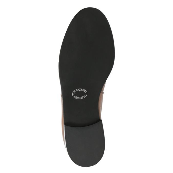 Dámske kožené Chelsea boots bata, hnedá, 594-3902 - 26