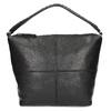 Kožená kabelka s odnímateľným popruhom bata, čierna, 964-6233 - 26