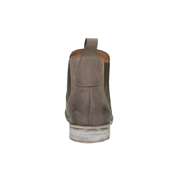 Kožené Chelsea Boots bata, hnedá, 596-4641 - 17