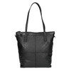 Kožená kabelka s odnímatelným popruhom bata, čierna, 964-6234 - 26