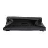 Čierna listová  kabelka so striebornou retiazkou bata, čierna, 961-6221 - 15