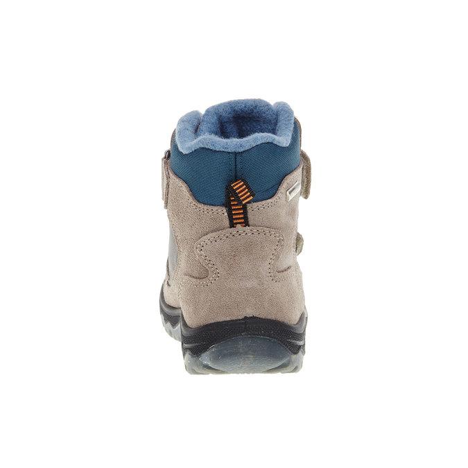 Kožené detské topánky mini-b, šedá, 293-2150 - 17