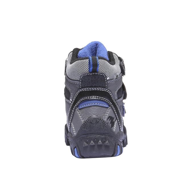 Detská obuv mini-b, šedá, 291-2100 - 17