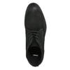 Členková obuv z brúsenej kože bata, čierna, 846-9611 - 19